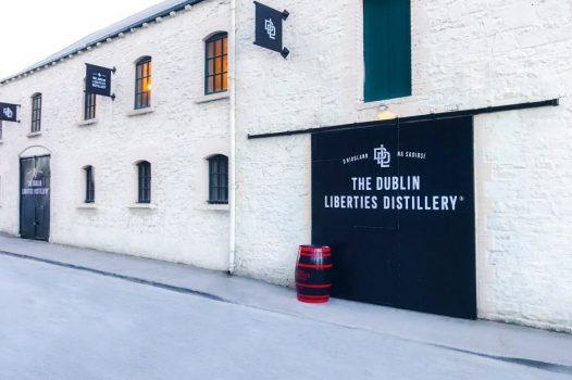 Dublin Liberties Distillery, Dublin, Ireland - Outside