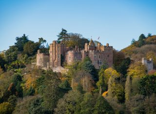 Dunster Castle, Somerset - Castle and Garden