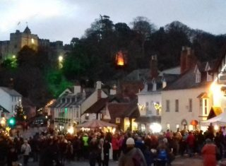 Dunster by Candlelight, Somerset