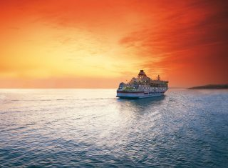 Brittany Ferries Sunset