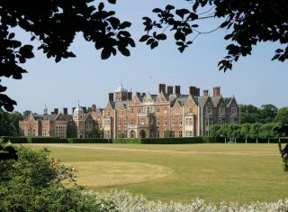 Sandringham Estate East Front, Norfolk group tour