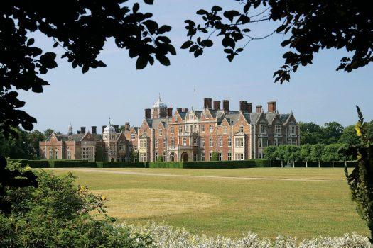 Sandringham Estate East Front, Norfolk group tour