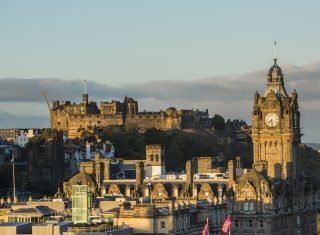 Edinburgh, Scotland - Edinburgh Castle viewed from Calton Hill © VisitScotland, Kenny Lam EXPIRES 18.1.2022