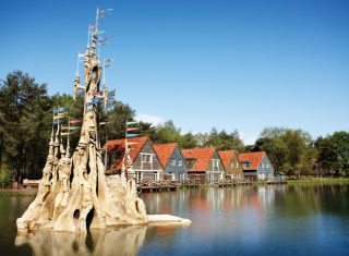 Efteling Theme Park, Netherlands, Holland - Village Bosrijk, group travel
