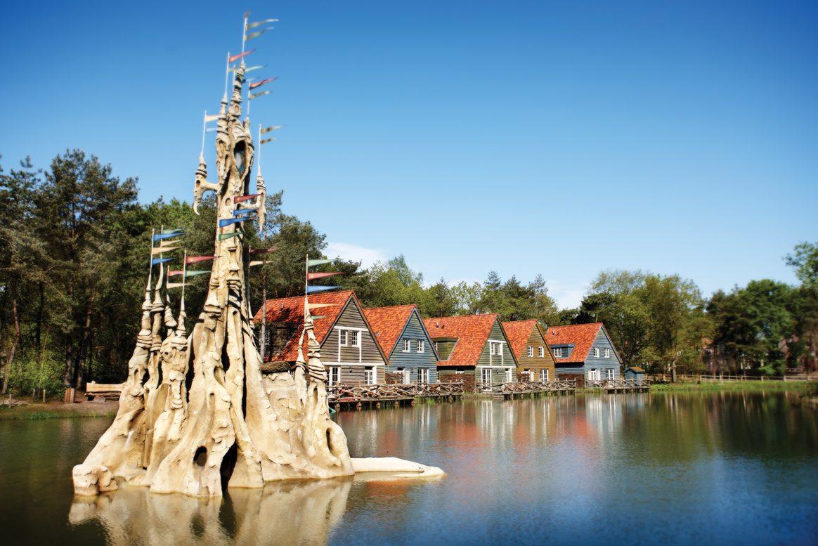 Efteling Theme Park, Netherlands, Holland - Village Bosrijk, group travel
