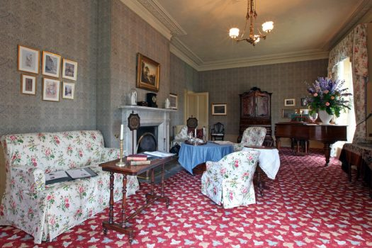 Elizabeth Gaskell's House, Manchester - Drawing Room