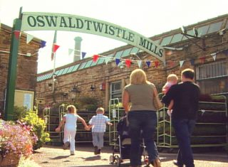 Entrance to Ostwaldtwisle Mills