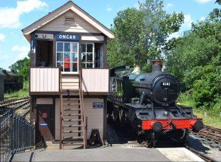 Epping Ongar Railway, Essex, Tiptree - 4141 at Ongar (NCN)