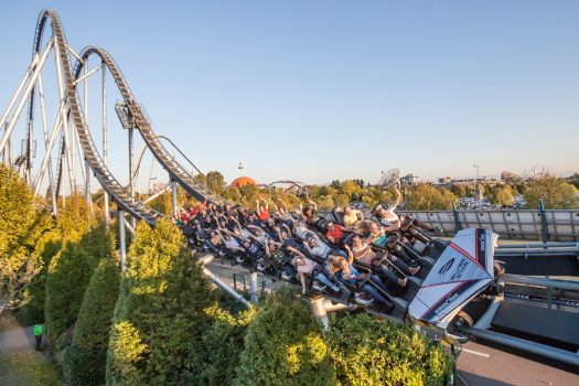 Europa Park, Theme Park & Resort, Germany - Attraction France Silverstar © Europa Park