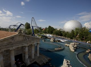 Europa Park, Theme Park & Resort, Germany - Greece Temple © Europa Park