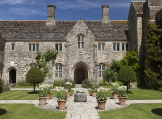 Exterior view of the house at Nymans, West Sussex, as seen from the Forecourt ©National Trust images-John Miller