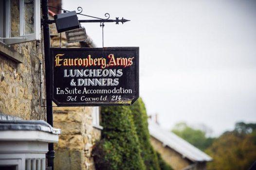 Fauconberg Arms sign