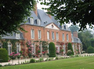 Chateau of Mesnil Geoffroy Ermenouville Normandy, France -