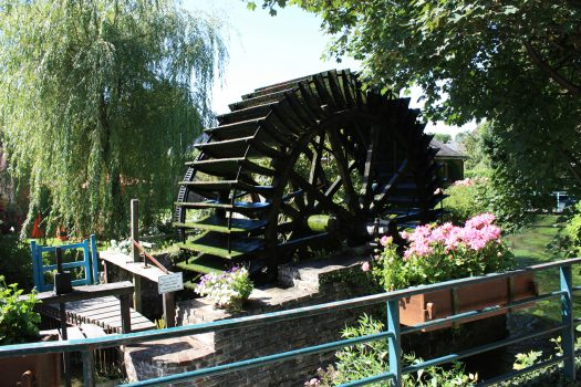 Veules les roses , Watermill, Normandy, France