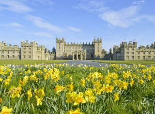 Scottish Borders, Tweed Valley Floors Castle ©Courtesy of Roxburgh Estates