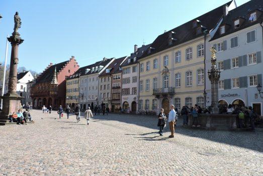 Freiburg main square, Black Forest