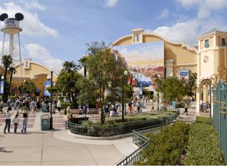 Front Lot Walt Disney Studios® Park © Disney