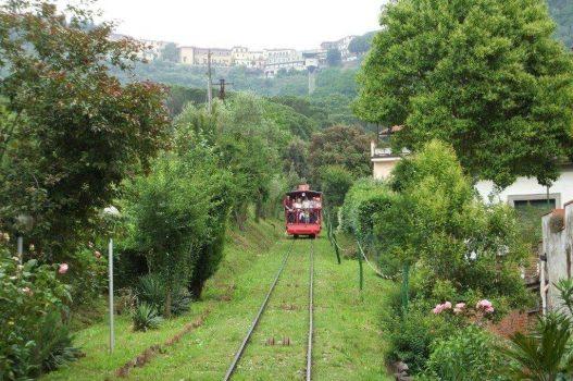 Funicular at Montecatini Terme, Tuscany