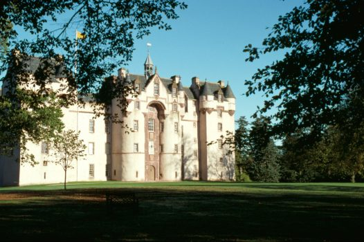 Fyvie Castle, Aberdeenshire, Scotland - Exterior © Images courtesy of National Trust for Scotland