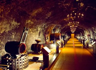 France, Champagne, Reims, GH Mumm Cellars, Group Travel, (c) Reims Tourist Office - Carmen Moya