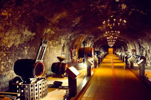France, Champagne, Reims, GH Mumm Cellars, Group Travel, (c) Reims Tourist Office - Carmen Moya