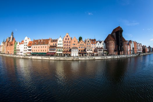 Poland, Gdansk, group travel, view from water © Gdansk Tourism Organization