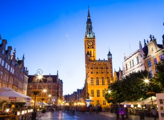 Poland, Gdansk, Group Travel, City Hall © Gdansk Tourism Organization