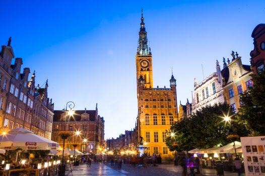 Poland, Gdansk, Group Travel, City Hall © Gdansk Tourism Organization