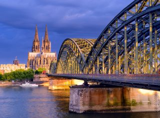 Germany - Cologne - View towards the city centre with cathedral and Hohenzollern Bridge 2 © Deutsche Zentrale für Tourismus e.V., Francesco Carovillano, GNTB EXPIRES 27.11.2019