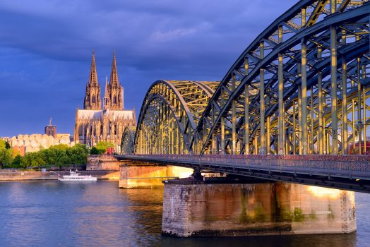 Germany - Cologne - View towards the city centre with cathedral and Hohenzollern Bridge 2 ©Deutsche Zentrale für Tourismus e.V., Francesco Carovillano, GNTB EXPIRES 27.11.2019