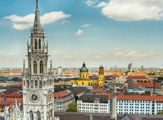 Germany - Munich - Town hall tower, Theatinerkirche church © Deutsche Zentrale für Tourismus e.V., Saskia Wehler, GNTB EXPIRES 27.11.2019