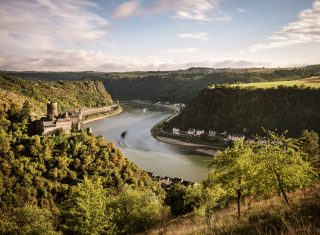 Germany - Rhineland - UNESCO World Heritage Upper Middle Rhine Valley, Castle Katz © Günther Bayerl, Lookphotos, LOOK Bildagentur der Fotografen, GNTB EXPIRES 27.11.2019