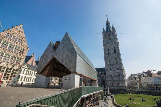 world war one centenary cruise - Ghent, Belgium - Ghent Market Hall © PT Wilding