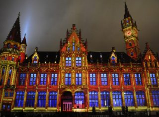 Ghent Light Festival for groups, belgium group tour, ghent trip gent holiday © Stad Gent