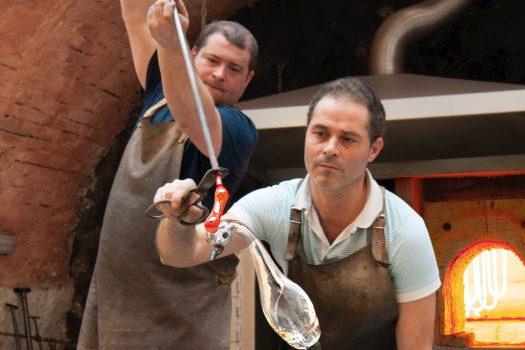 Austria, Glassblower NEW CROSS