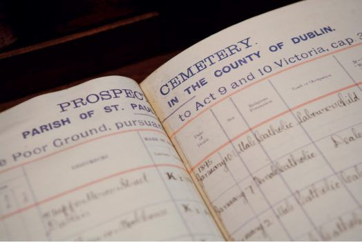 Glasnevin Cemetery Museum, Dublin, Ireland - genealogy