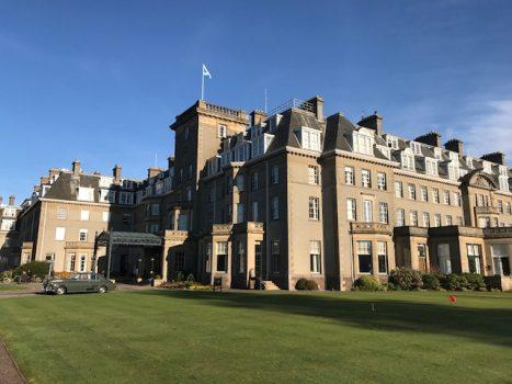 Gleneagles Hotel, Scotland NCN