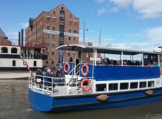 Queen Boadicea II at Gloucester Waterways Museum