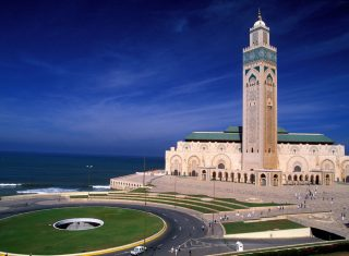 Grand Mosque Hassan II, Casablanca, Morocco www-visitmorocco-com-moroccan-national-tourist-office