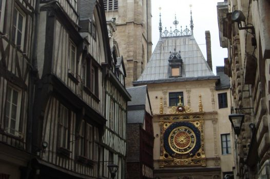 France, Rouen, Gros Horloge (NCN)