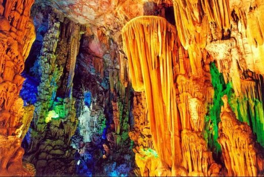 Reed Flute Cave, Guilin, Beijing, China NCN