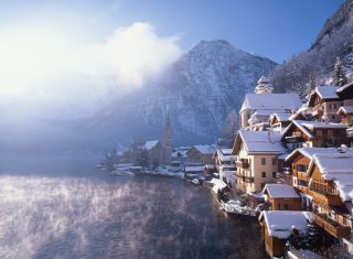 Austria, Hallstatt, winter wonderland, group travel, ©Osterreich Werbung-Photographen Popp Hackner