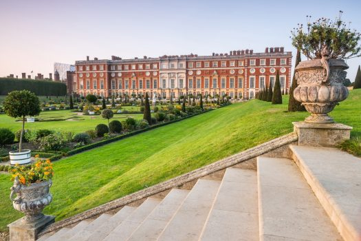 Hampton Court Palace (NCN), courtesy of Historic Royal Palaces