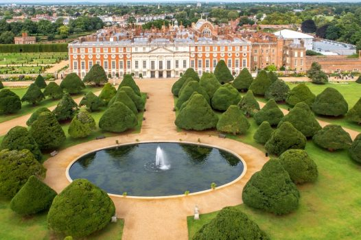Hampton Court Palace © Courtesy of Historic Royal Palaces