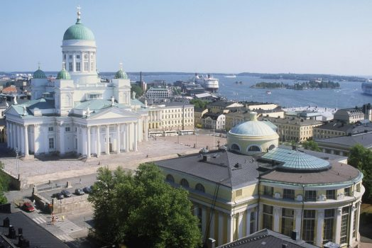 Helsinki Cathedral ©Niko Soveri.Tourist & Convention Bureau's Material Bank