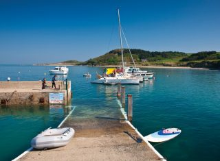 Guernsey Herm Harbour © Images Courtesy of VisitGuernsey / Richard James