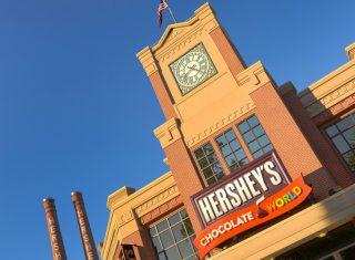 Hershey's Chocolate World, Hershey Harrisburg PA, Pennsylvania, USA - Front Entrance © Hershey's Chocolate World
