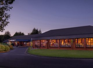 Hilton Warwick Hotel - Outside DuskHilton Warwick Hotel - Outside Dusk