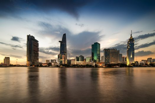 Southeast Asia, Vietnam, Ho Chi Minh City, Skyline, Saigon © Easia Travel