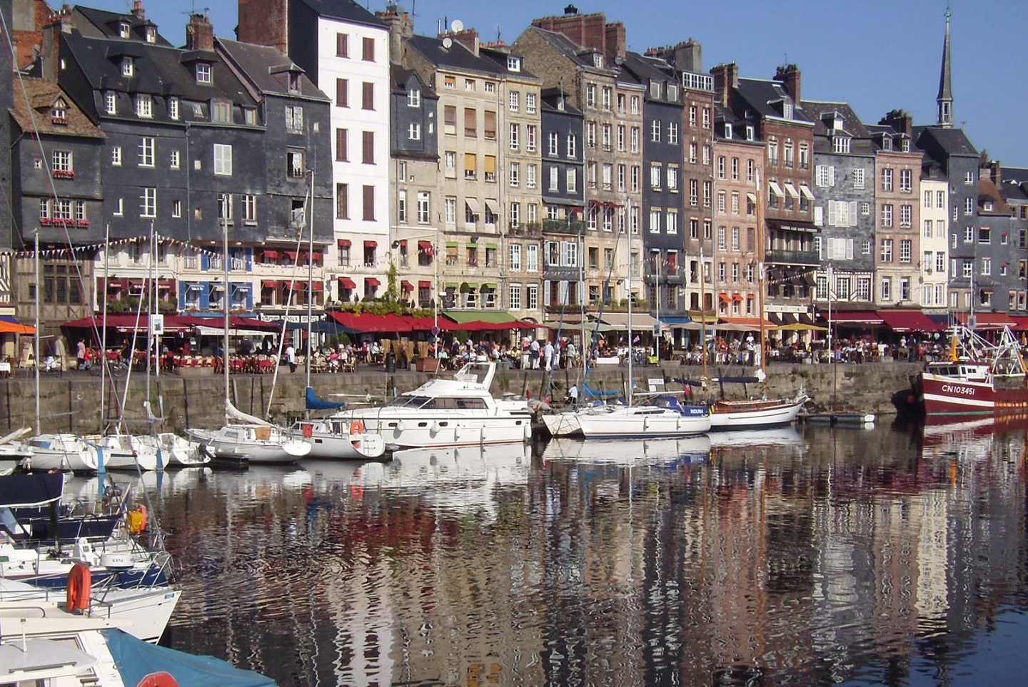 Seine river cruise French river cruise Honfleur, France ©Fred Olsen Cruise Lines
